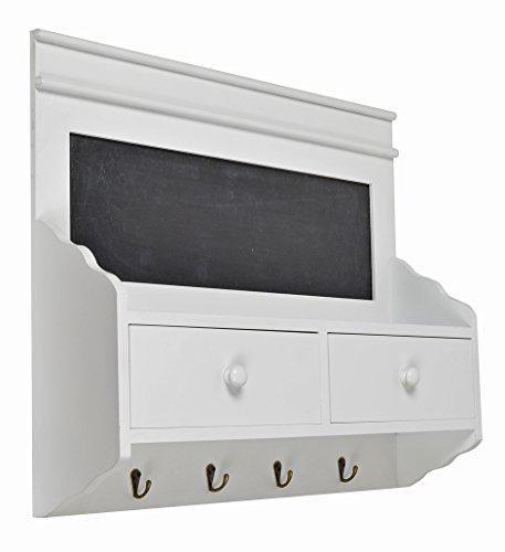 ts ideen regal im landhaus stil notiz tafel k chenregal wandregal h nge regal schrank shabby. Black Bedroom Furniture Sets. Home Design Ideas