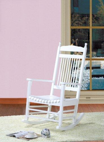 clp stillstuhl holz schaukelstuhl marissa landhaus stil bequem stilvoll relaxen farbwahl wei. Black Bedroom Furniture Sets. Home Design Ideas