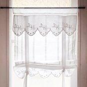 Romantische Gardinen im Landhaus-Stil Lannion, 2er-Set