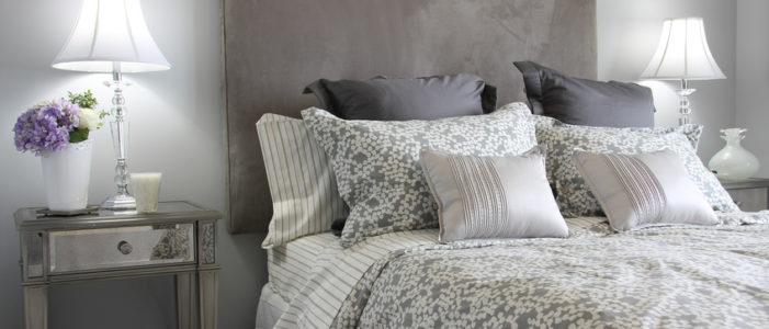 Bett im Landhausstil Muster